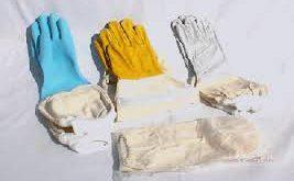 دستکش زنبورداری معمولی